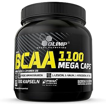 Olimp BCAA 1100 Mega Caps, 300 Kapseln