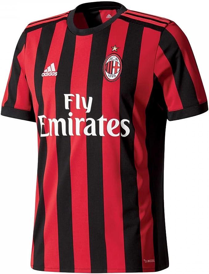 adidas 17/18 AC Milan Home - T-Shirt Uomo