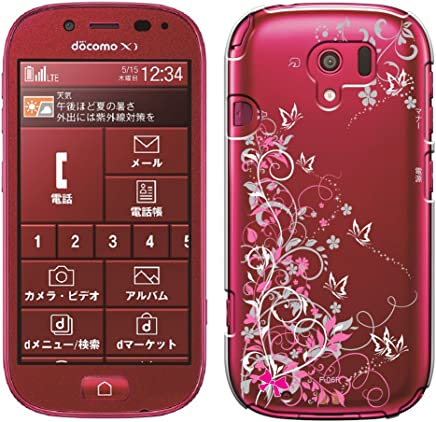 「Breeze-正規品」iPhone ・ スマホケース ポリカーボネイト [透明-White] らくらくスマートフォン カバー らくらくスマートフォン3[F-06F]