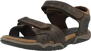 Timberland Oak Bluffs Leather 2 Strap (Junior), Sandali a Punta Aperta Unisex-Bambini