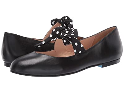 French Sole Dotty (Black Leather/Polka Dot) Women