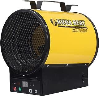Dura Heat EUH4000R Electric Forced Air Heater with Remote Control 12,800 Btu