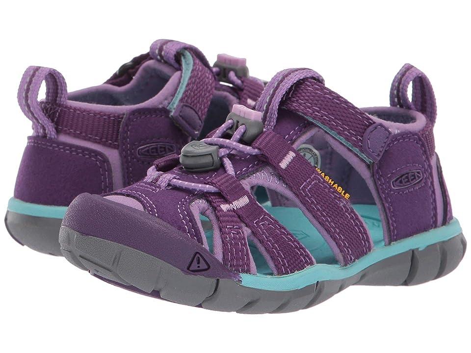 Keen Kids Seacamp II CNX (Toddler/Little Kid) (Majesty/Tibetan Stone) Girls Shoes