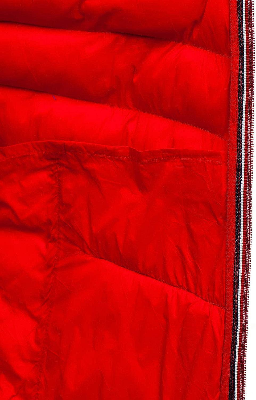 BOLF Herren /Übergangsjacke Daunenjacke Leichte Steppjacke Funktionelle Jacke Isolationsjacke Funktionsjacke Thermojacke Outdoor Freizeitjacke Windjacke Stehkragen Kapuze Blousons Sportlicher Stil 4D4