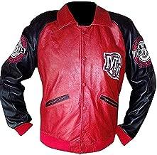 Michael Jackson Mickey Mouse Club Varsity Leather Jacket