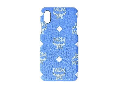 MCM White Logo Visetos Smart Phone Case