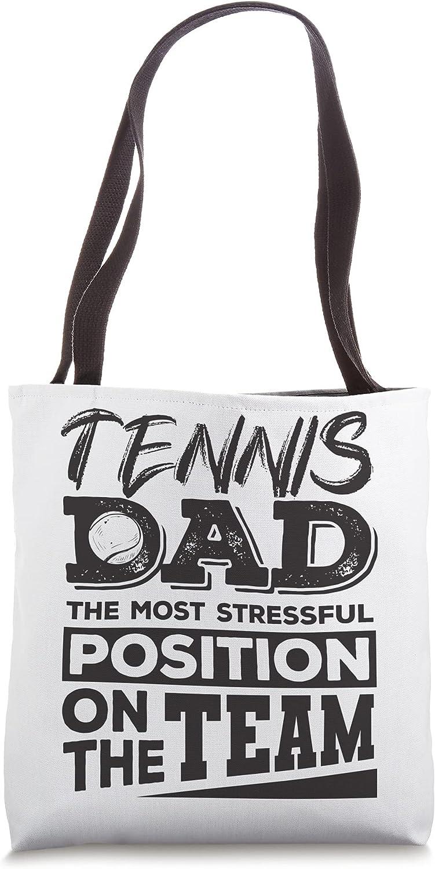 Tennis Dad Shirt Men Tennis Lover Tote Bag