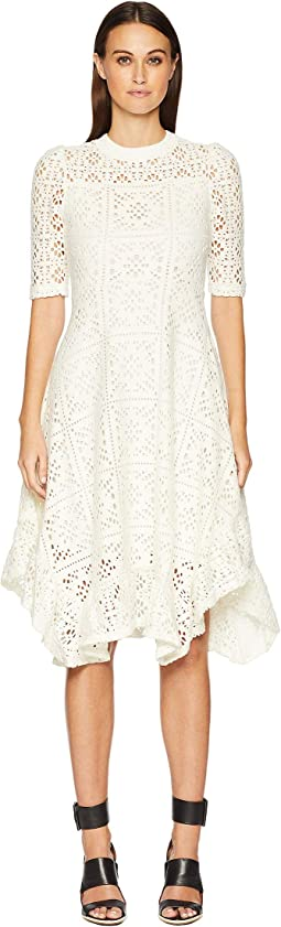 Lacey Jersey Midi Dress