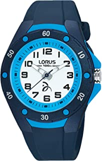 Lorus Djokovic Childrens Analog Quartz Watch with Silicone Bracelet R2365LX9