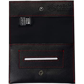 Pellein - Portatabacco in vera pelle The First - Astuccio porta tabacco, porta filtri, porta cartine e porta accendino. Handmade in Italy