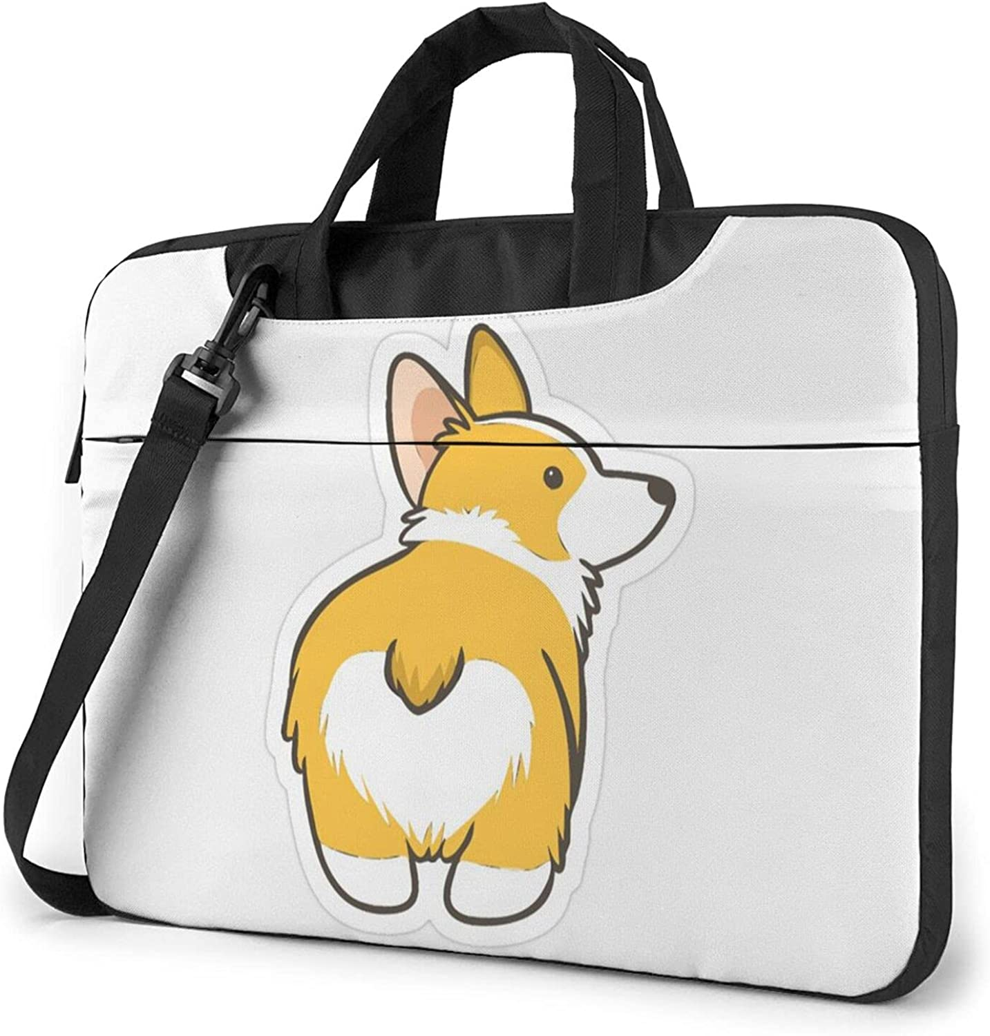 Laptop Shoulder Bag Cute Dog Messen Butt Computer Heart Fixed price for sale 35% OFF Tote