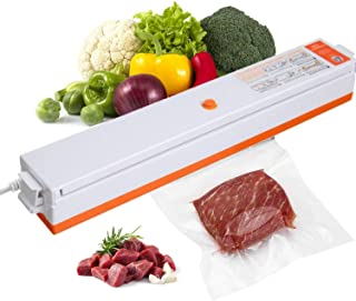 Sealer, Fully Automatic Vacuum Food Sealing Machine, Vacuum Sealing Machine for Cooking and Food Saving, with Wet and Dry ...