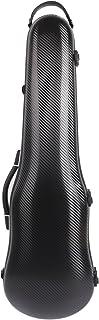 Funda para violín 4/4 de fibra de carbono mixta de 1,95 kg, funda de tamaño completo, peso ligero, fuerte de 150 kg de presión