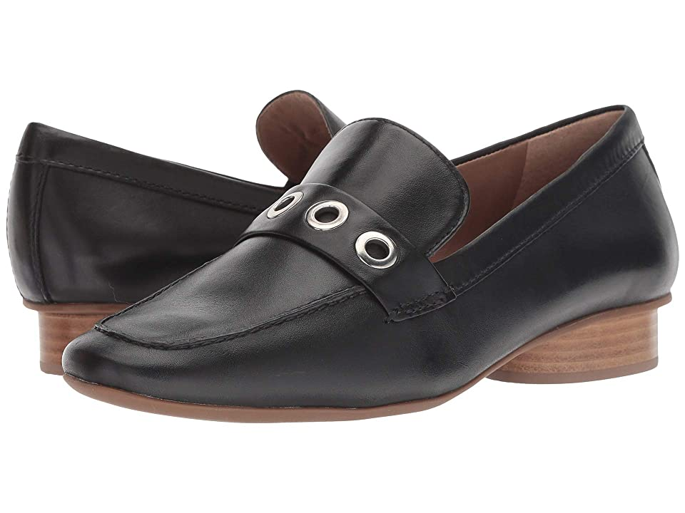 Bernardo Jaden Loafer (Black Leather) Women