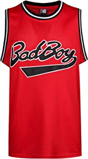 MOLPE Bad Boy #72 Smalls Basketball Jersey S-XXXL Red, 90S Hip Hop Clothing for Party, Stitched Letters and Numbers