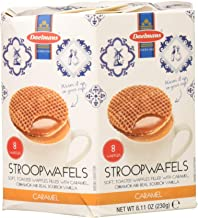 Daelmans Stroopwafels Wafers In Hexa Box 8.11 Ounce (Pack of 4)