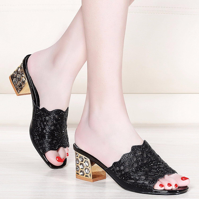 QPSSP Paar Schuhe Mit Groben Bei Bei Netto In Sandalen  ganz billig