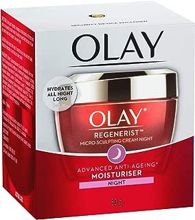 Olay Regenerist Micro Sculpting Cream Moisturiser Night 50g