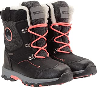 Mountain Warehouse Heavenly Kids Snowboots - Snowproof Winter Shoes