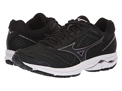 Mizuno Wave Rider 22 (Black/Rose Gold) Women