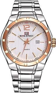 BAG STOCK Casual Watch For Men Analog Metal - Bag Stock 6003