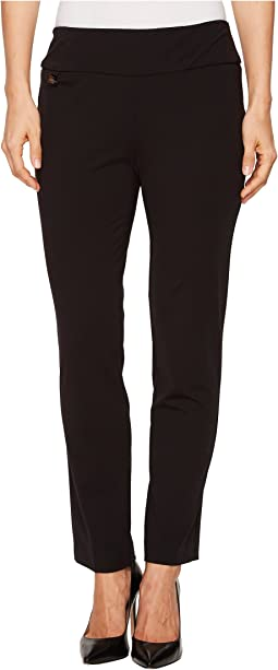 Lisette L Montreal - Kathryn Fabric Ankle Pants