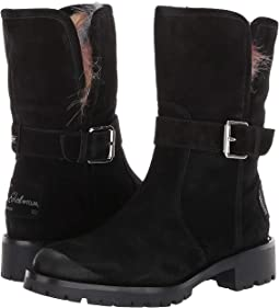 e8d91294f Black Suede Waterproof Velour Suede Leather. 113. Sam Edelman
