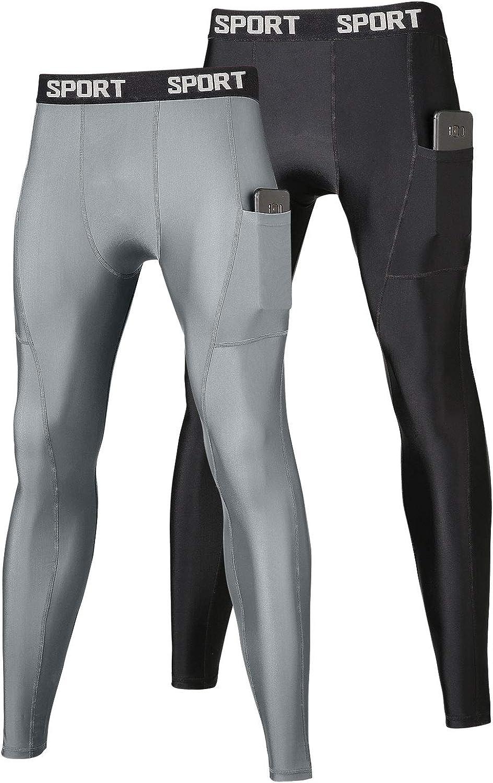 FANDIMU Men Compression Pants Breatha Oakland Mall Layer Base Price reduction Cycling
