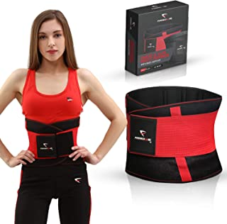 Formed by Me Waist Trimmer | Sweat Belt Trainer for Burning Belly Fat and Weight Loss | Premium Ab Belt for Both Women and Men