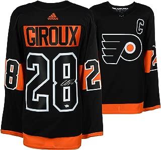 Claude Giroux Philadelphia Flyers Autographed Black Alternate Adidas Authentic Jersey - Fanatics Authentic Certified