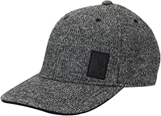 Spyder Men's Bandit Stryke Fleece Cap, Black/Alloy, Large/X-Large