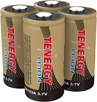 4-Pack Tenergy 4Pcs 3.7V Rechargeable Battery for Arlo Security Cameras