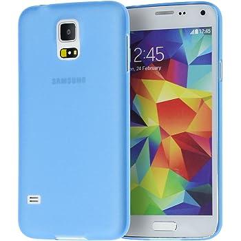 doupi UltraSlim Funda para Samsung Galaxy S5, Finamente Estera Ligero Estuche Protección, Azul: Amazon.es: Electrónica