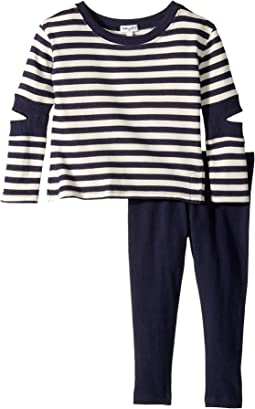 Splendid Littles - Stripe Cut Out Set (Little Kids)