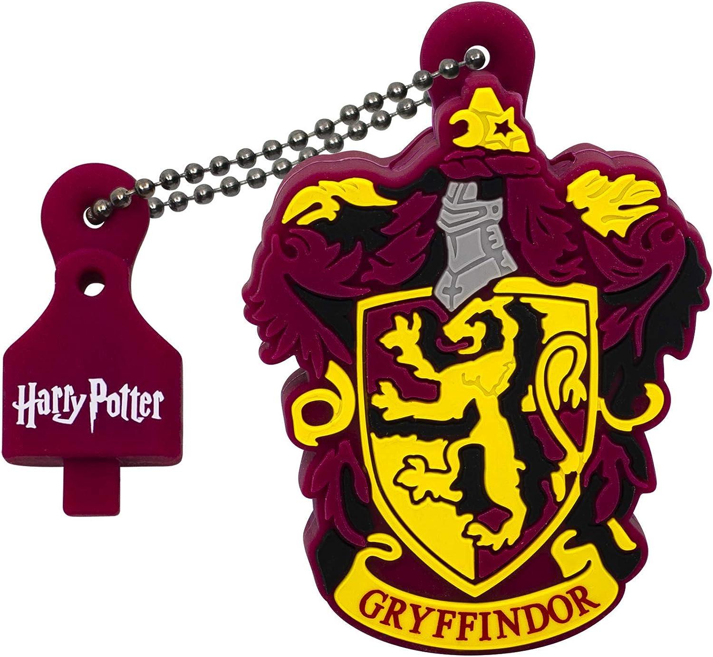Emtec ECMMD16GHPC01 Harry Potter - Memoria USB 2.0 (16 GB), diseño de Gryffindor