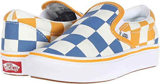 (Big Checker) True Blue/Cadmium Yellow