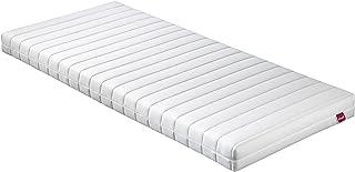 Abeil basique–Colchón Memory Foam Top, poliéster, Blanco, 200x 90x 13cm