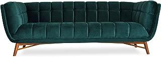 Best green mid century modern sofa Reviews