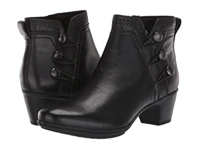 Cobb Hill Kailyn Ankle Boot (Black) Women