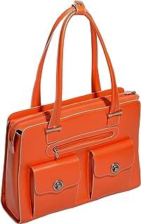"""McKlein USA Verona 15.4"""" Leather Ladies' Laptop Briefcase"""