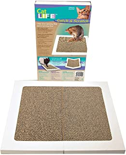 Penn Plax CAT175 Cat Scratcher, White, 14.10 x 12.30 x 1.60