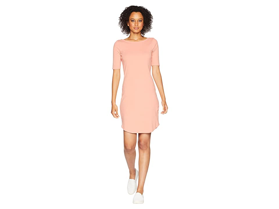 Three Dots Heritage Knit Dress (Cactus Flower) Women