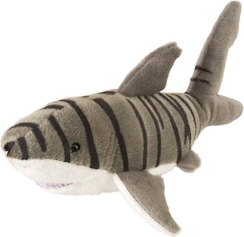 Wild Republic 20cm Peluches Cuddlekins Mini Tigre Requin Jouet en Peluche