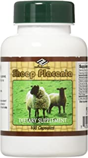 Sheep Placenta Complex 100 Capsules,FRESH , New Item Good Product !!