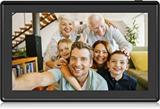 Feelcare 11.6 Inch 16GB WiFi Digital Picture Frame, 2.4GHz and 5GHz Dual Band WiFi, Touch Screen, 1920x1080 IPS LCD Panel, Wall-Mountable, Send Photos or Small Videos from Anywhere(Black)
