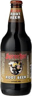 Sprecher Root Beer Soda, 16 Fluid Ounce, 4-Count (Pack of 6)