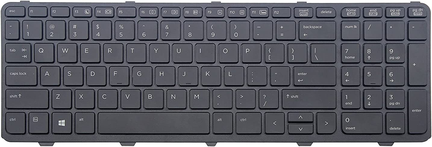 New Laptop Keyboard with Frame Replacement Special price 450 HP for Probook G0 Very popular!