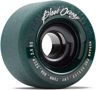 Blood Orange Morgan Pro Longboard Wheels - 70mm 80a - Midnight Green