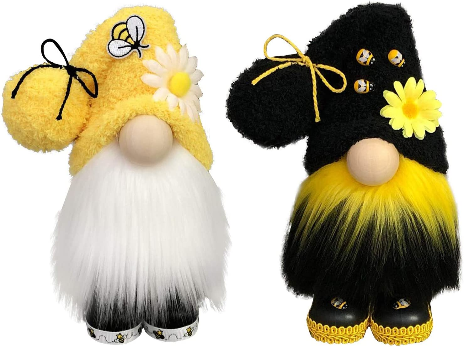 Ranking TOP14 Exquisite Faceless Doll 2 Pcs Bee Ornaments Gnomes Plus Easter Lowest price challenge