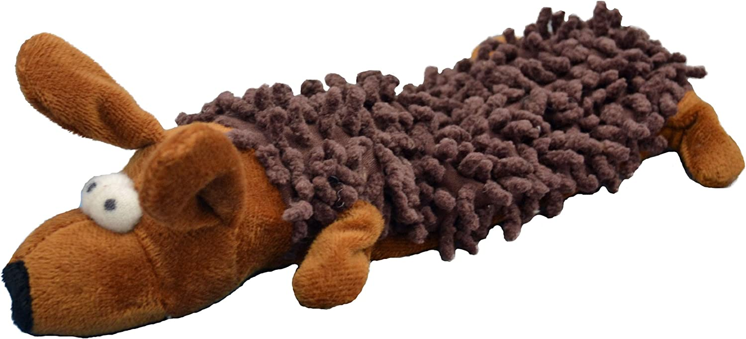 Amazing Pet Products Shaggy Lite Pet Squeak Toy, Dog